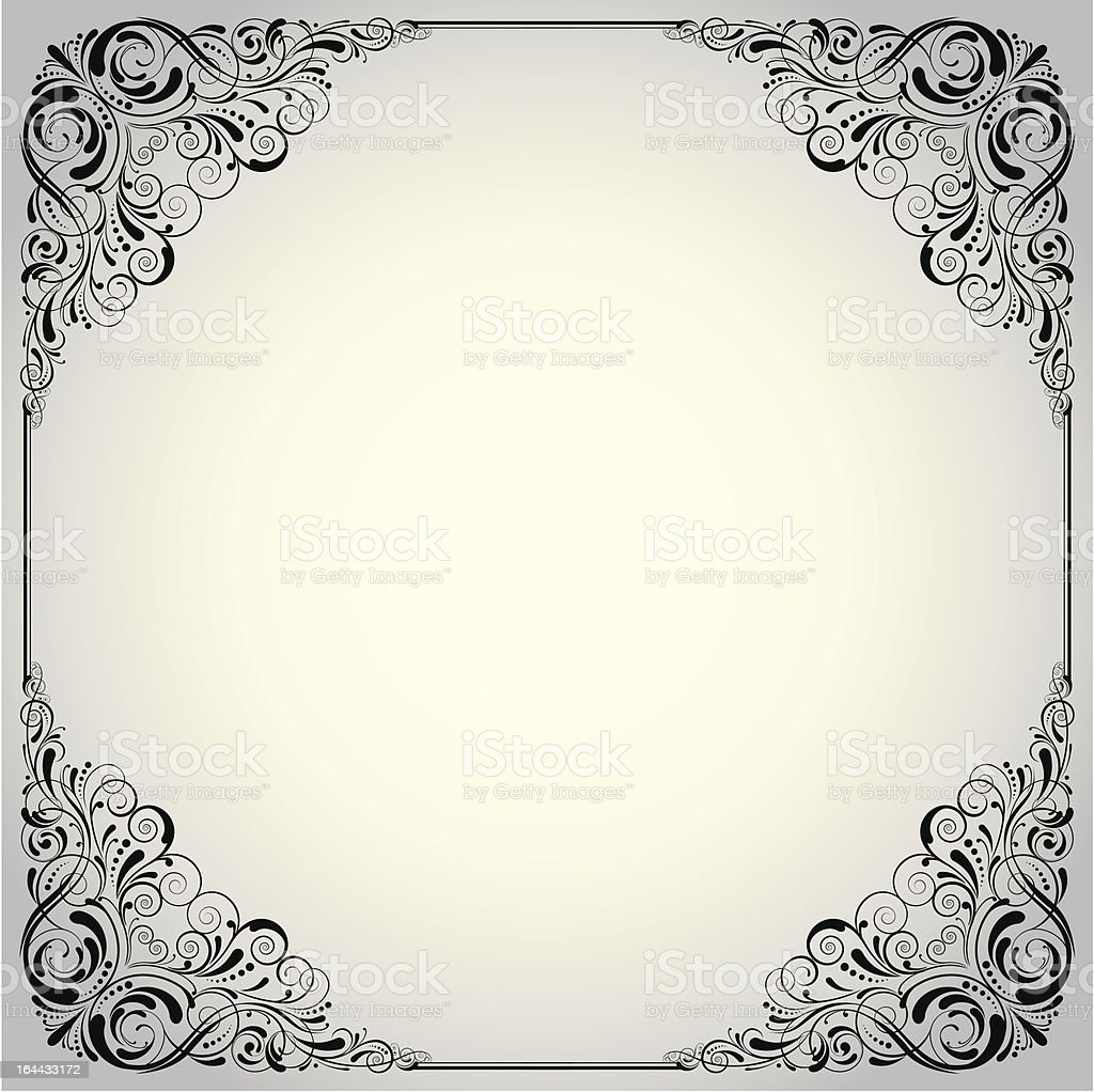 Background label design royalty-free stock vector art
