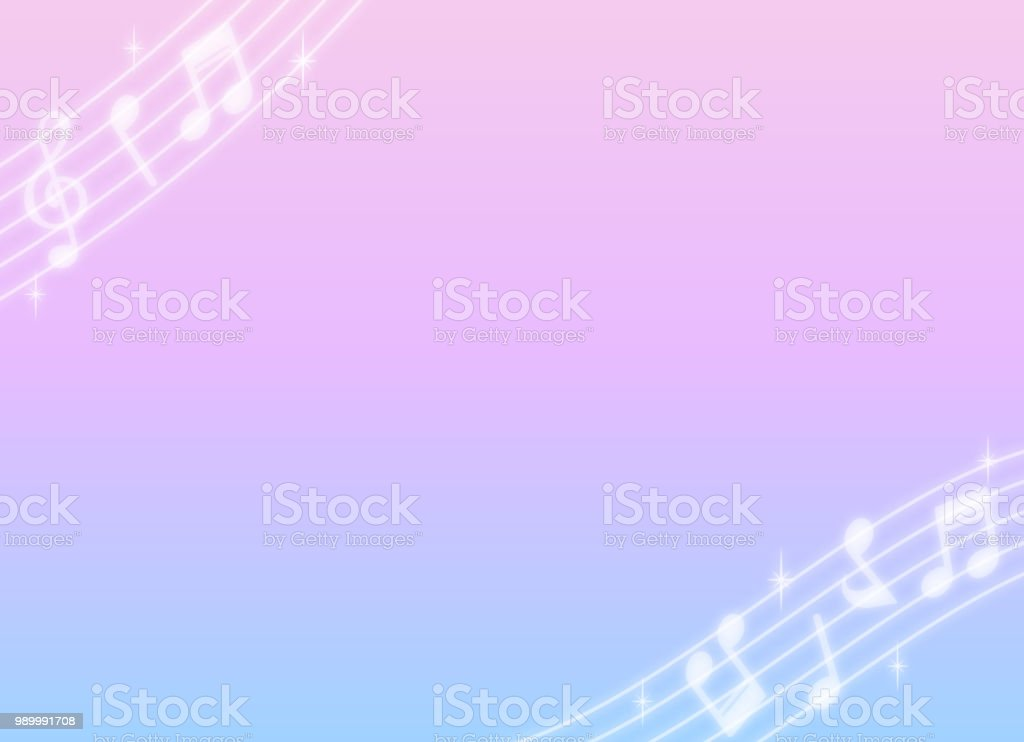 Background material of note motif design vector art illustration