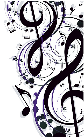 Background Music Stock Illustration - Download Image Now