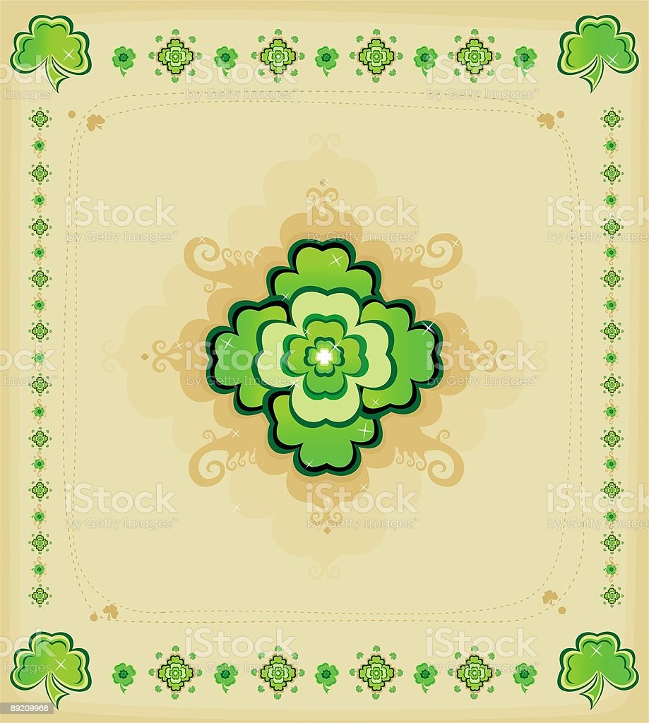 Background - St. Patrick's Day royalty-free stock vector art