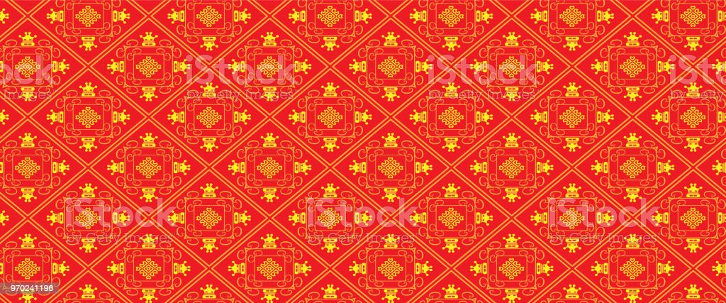 Background Wallpaper Asian Style Royalty Free Stock Vector Art Amp