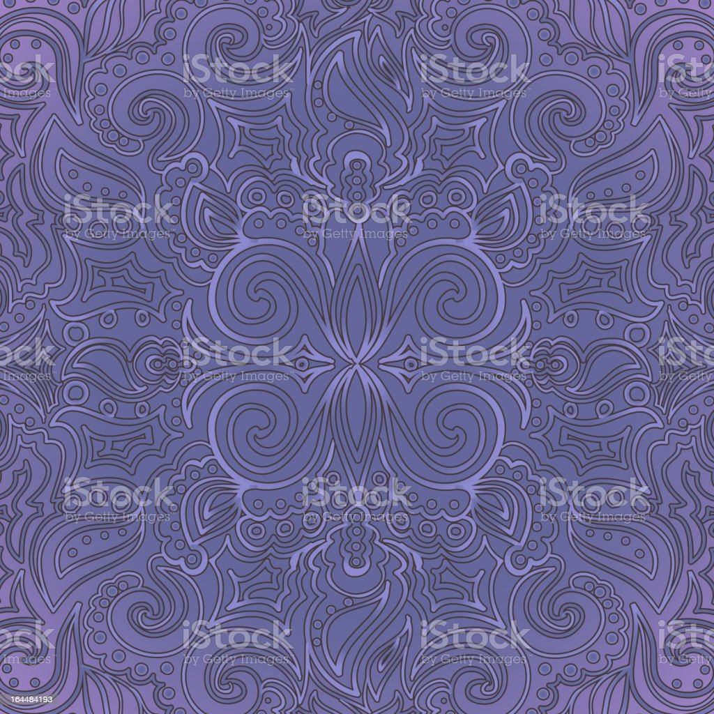 Background with ornate pattern royalty-free stock vector art