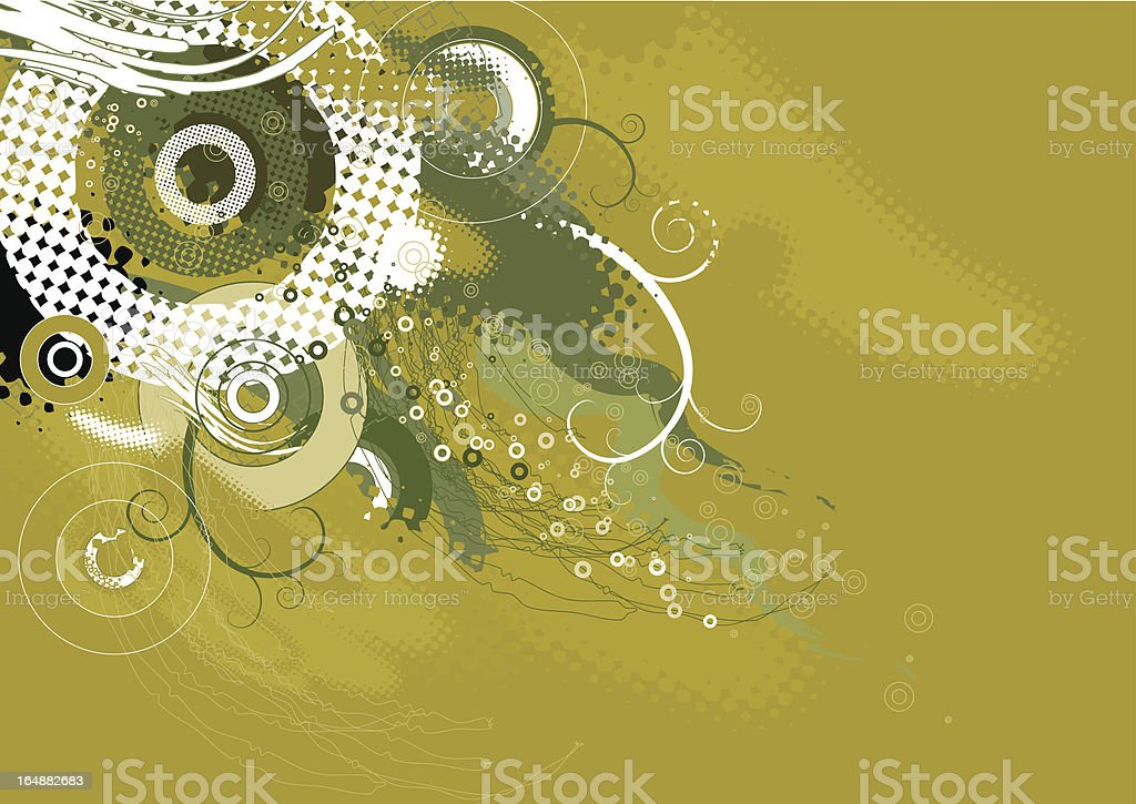 Background with shapes royalty-free stock vector art