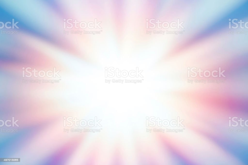 Background with sunbeam vector art illustration