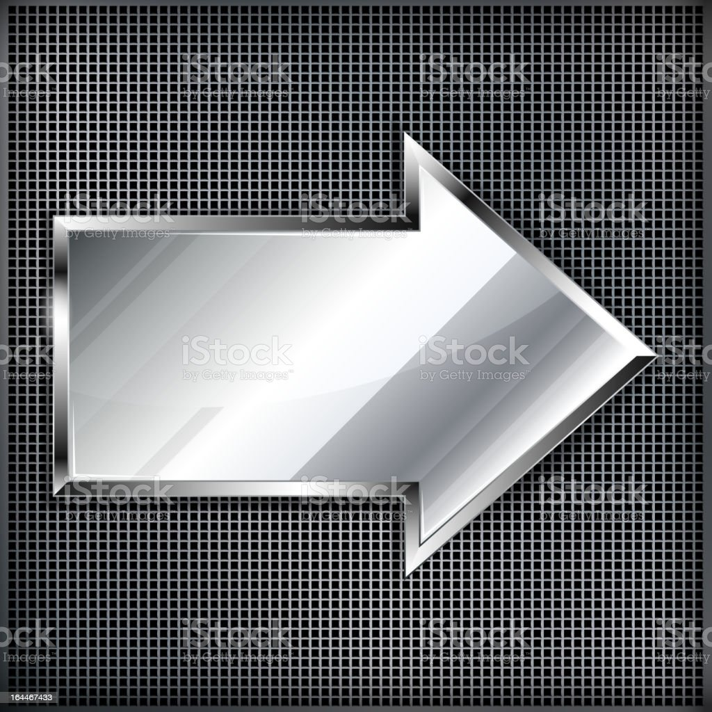 Background with the arrow royalty-free stock vector art