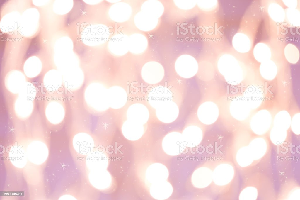 Background with white blurred bokeh vector art illustration
