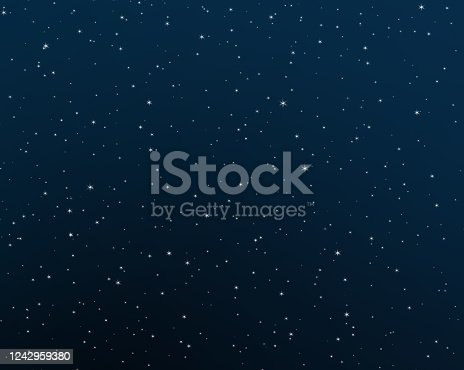 Background with zodiac sings. Banner with dark blue night sky and stars and beautiful hand drawn zodiac constellations.