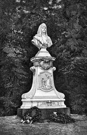 Baden-Baden, monument to Empress Augusta