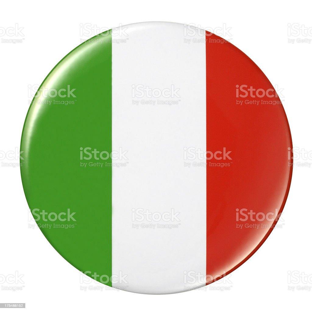 Badge - Italian flag royalty-free badge italian flag stock vector art & more images of badge