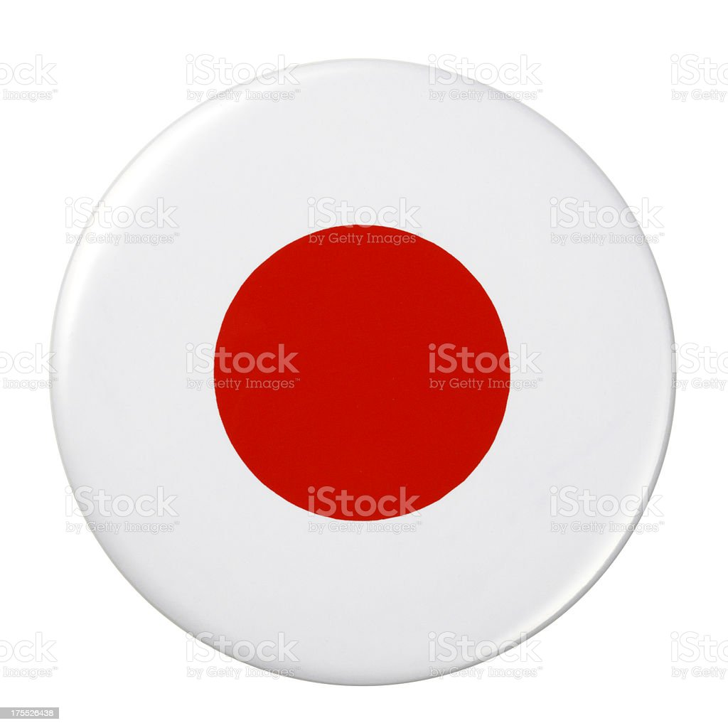 Badge - Japan flag royalty-free badge japan flag stock vector art & more images of badge