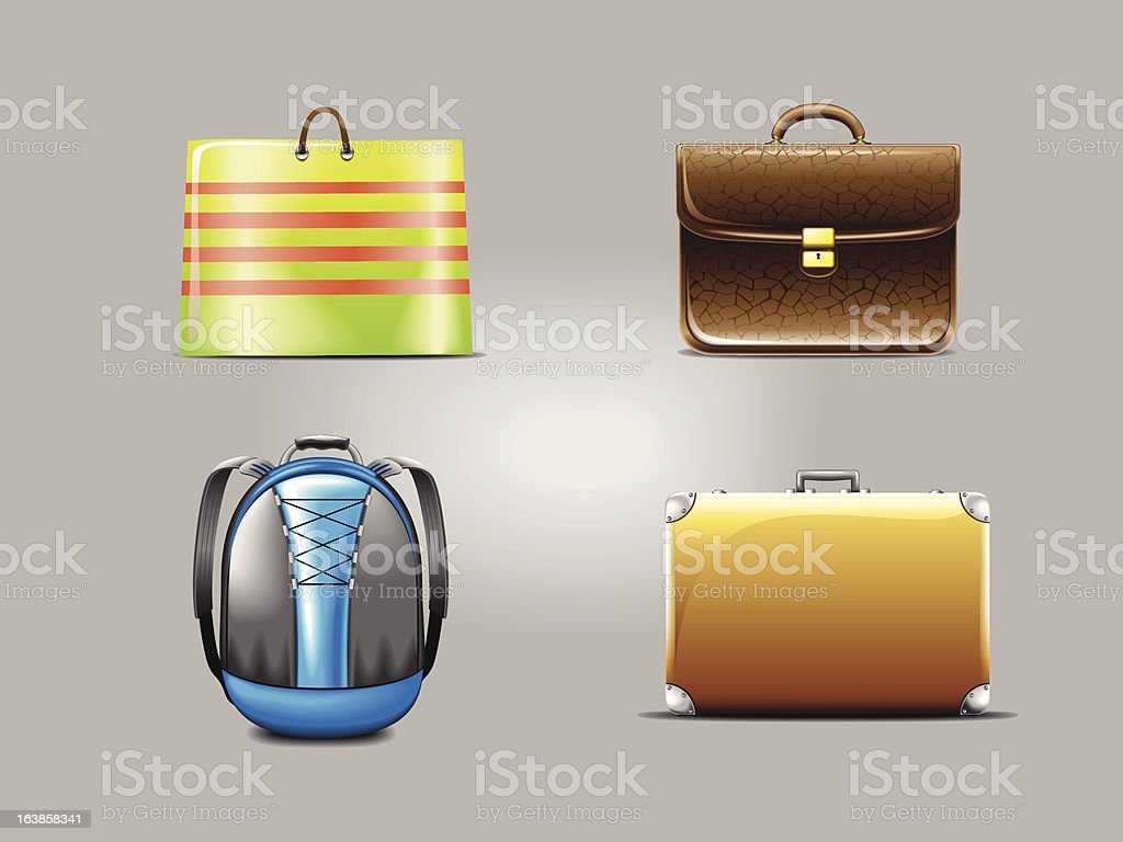 bags royalty-free stock vector art