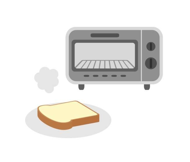 焼きたてのパン - 食パン点のイラスト素材/クリップアート素材/マンガ素材/アイコン素材