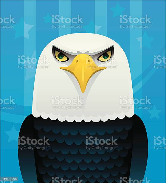 Weißkopfseeadler Eagle Stock Vektor Art und mehr Bilder von Adler