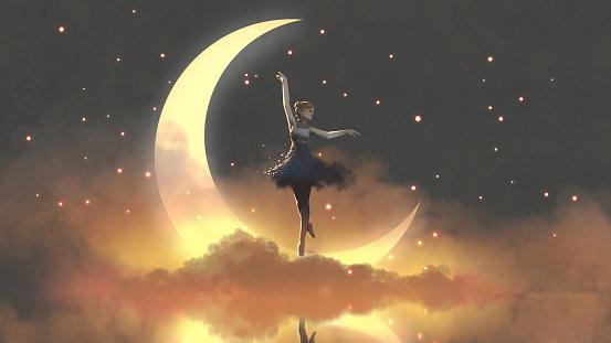 ballerina of the crescent moon
