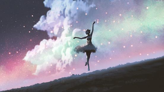 ballerina of the fireflies