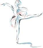 istock Ballet dancer 93129421