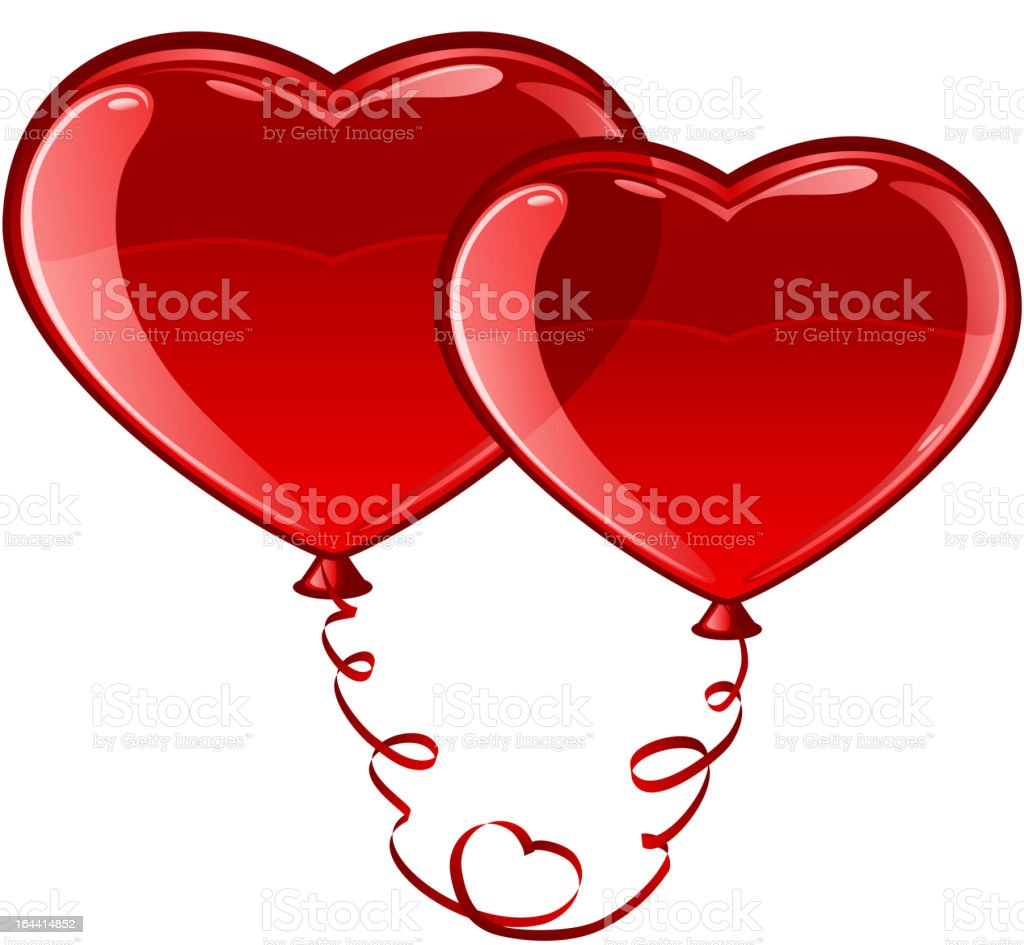 Balloon Heart royalty-free balloon heart stock vector art & more images of balloon