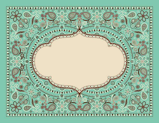 Bandana Pattern vector art illustration