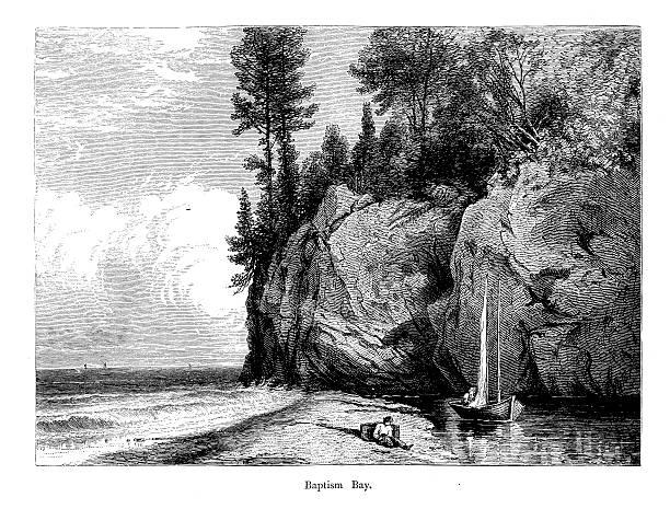 Great Lakes Bay Illustrations, Royalty-Free Vector Graphics