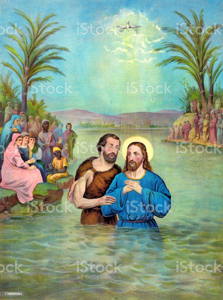 Baptism of Jesus Christ royalty-free baptism of jesus christ stock vector art & more images of baptism