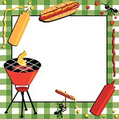 Barbecue Picnic Invitation with special guests