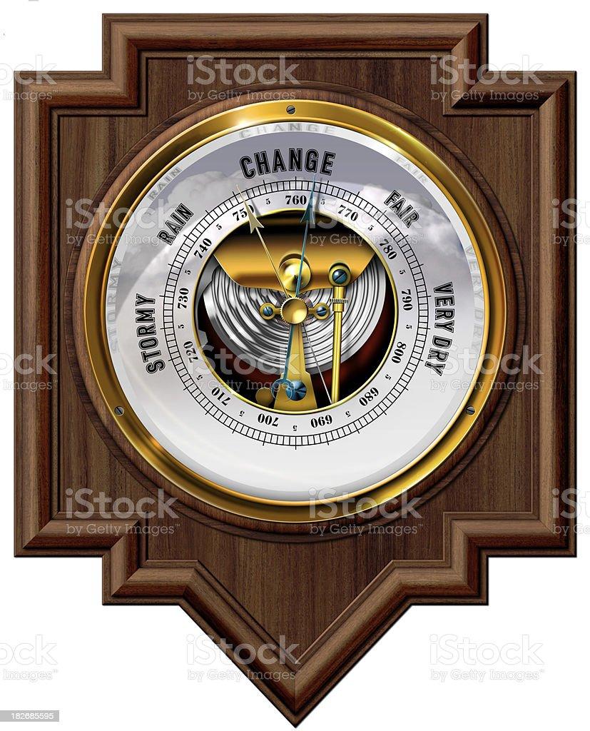 Barometer royalty-free stock vector art