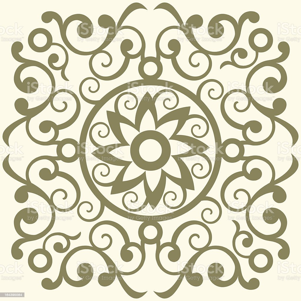 Baroque floral decoration royalty-free baroque floral decoration stock vector art & more images of abstract