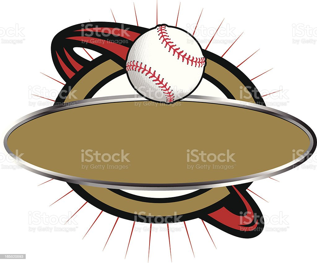 野球バナーテンプレート アメリカ文化のベクターアート素材や画像を