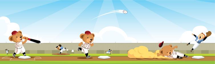 Baseball bear team sequence