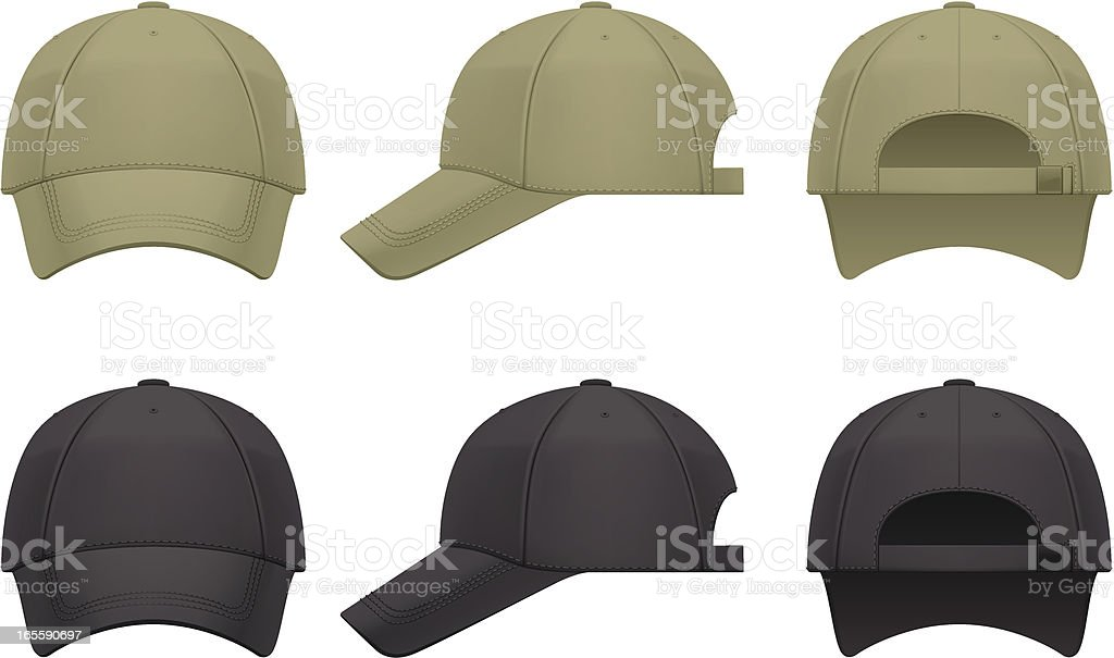 Baseball cap royalty-free baseball cap stock vector art & more images of baseball - sport