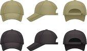 Vector illustration of baseball cap.