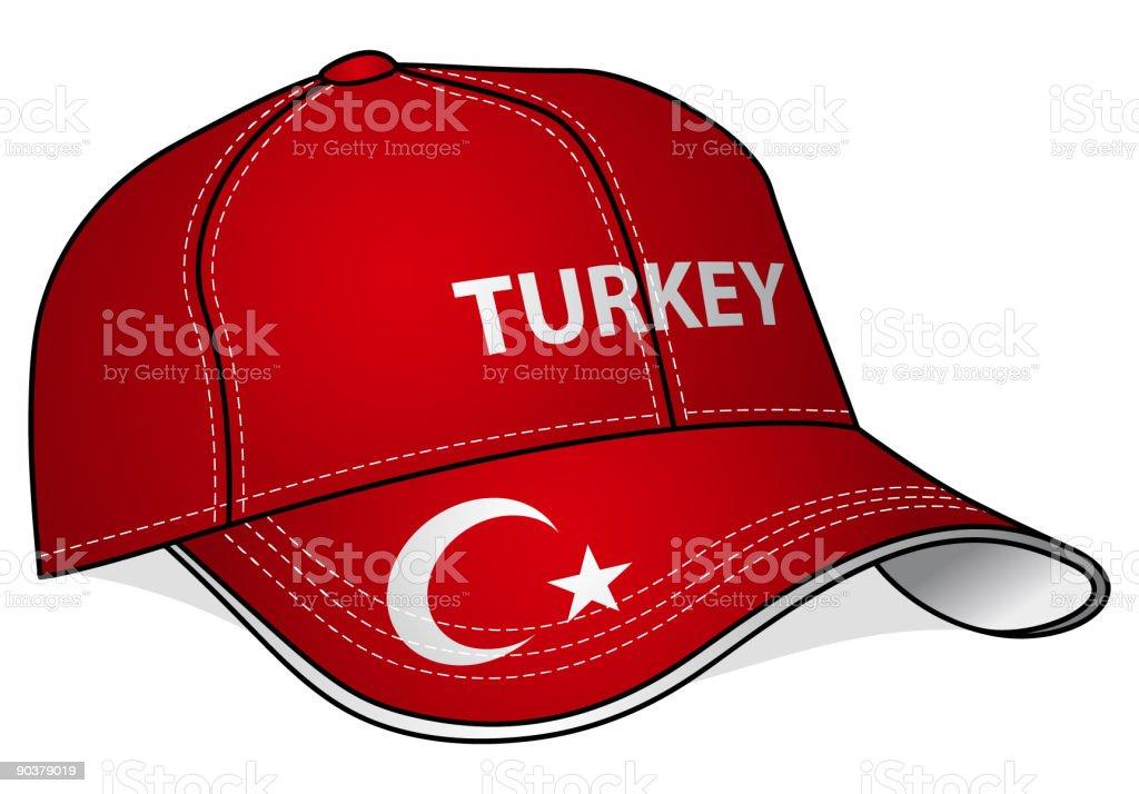 Baseball Cap - Turkey royalty-free baseball cap turkey stock vector art & more images of baseball cap