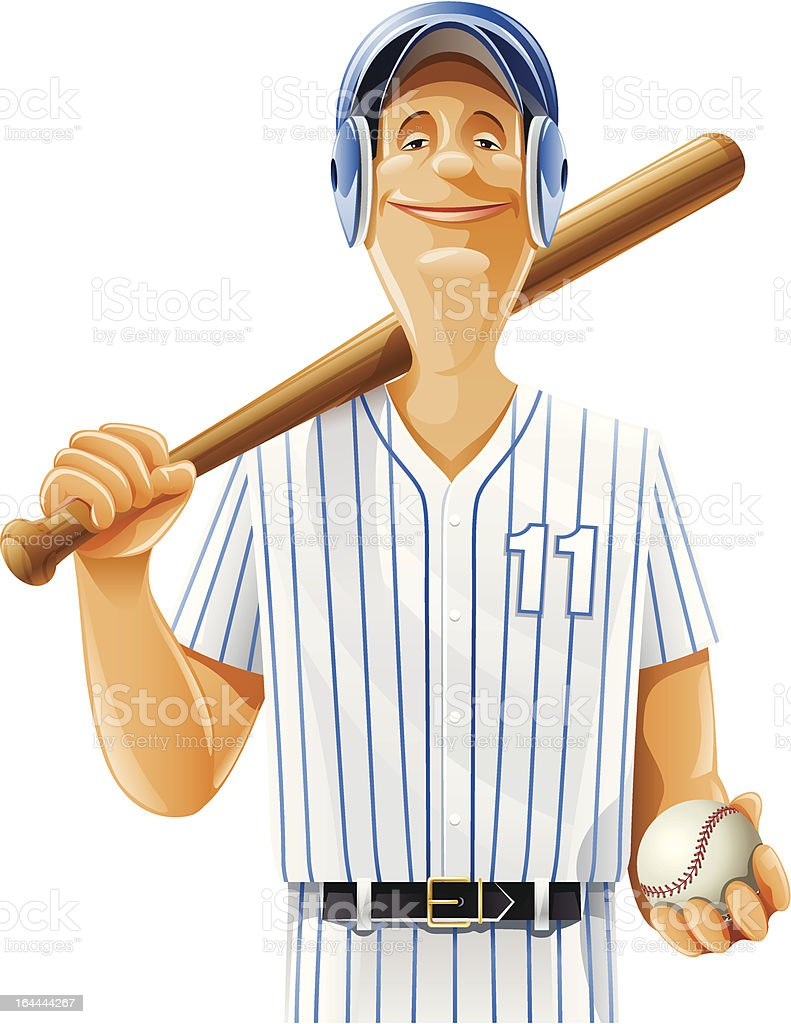 baseball player with bat and ball royalty-free baseball player with bat and ball stock vector art & more images of acting