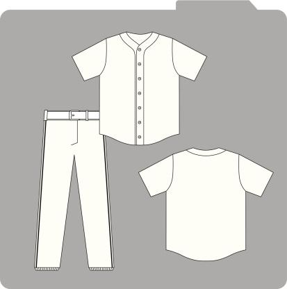 Baseball Uniform Template