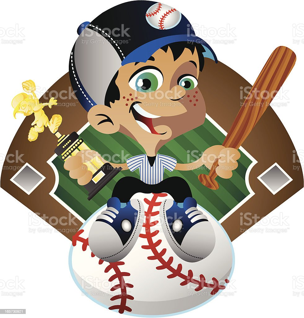 Baseball Winner royalty-free baseball winner stock vector art & more images of baseball - ball