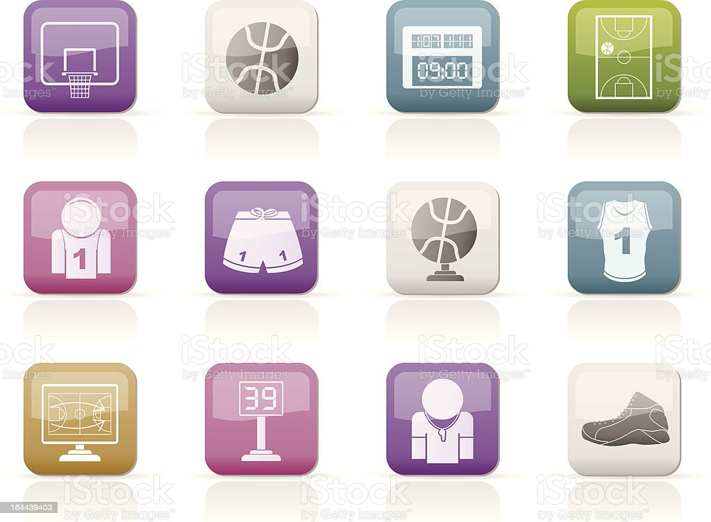 Basketball and sport icons royalty-free basketball and sport icons stock vector art & more images of athlete