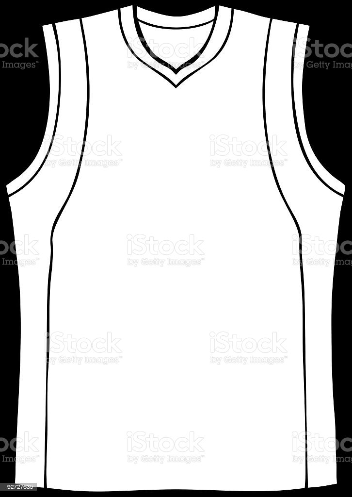 royalty free black basketball jersey clip art vector images rh istockphoto com basketball jersey clipart free basketball jersey clip art free