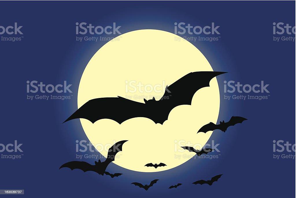 Bats royalty-free stock vector art