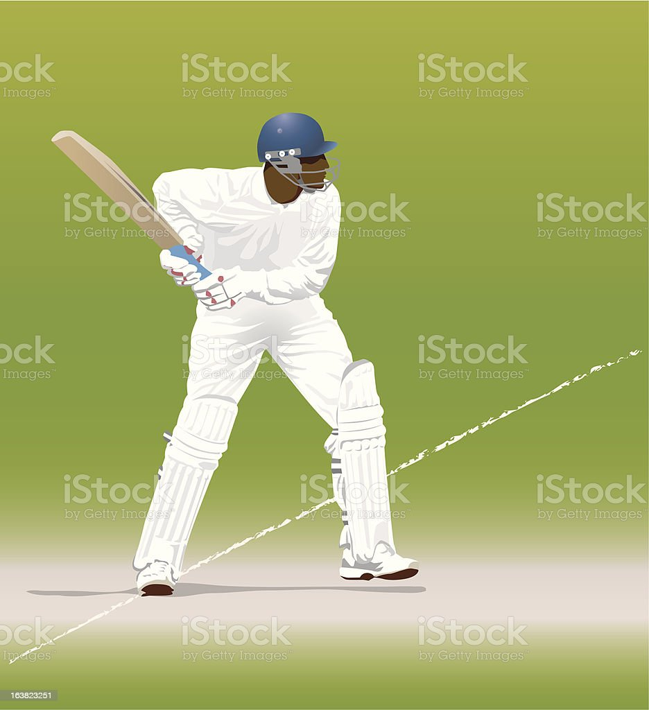 batsman royalty-free batsman stock vector art & more images of activity
