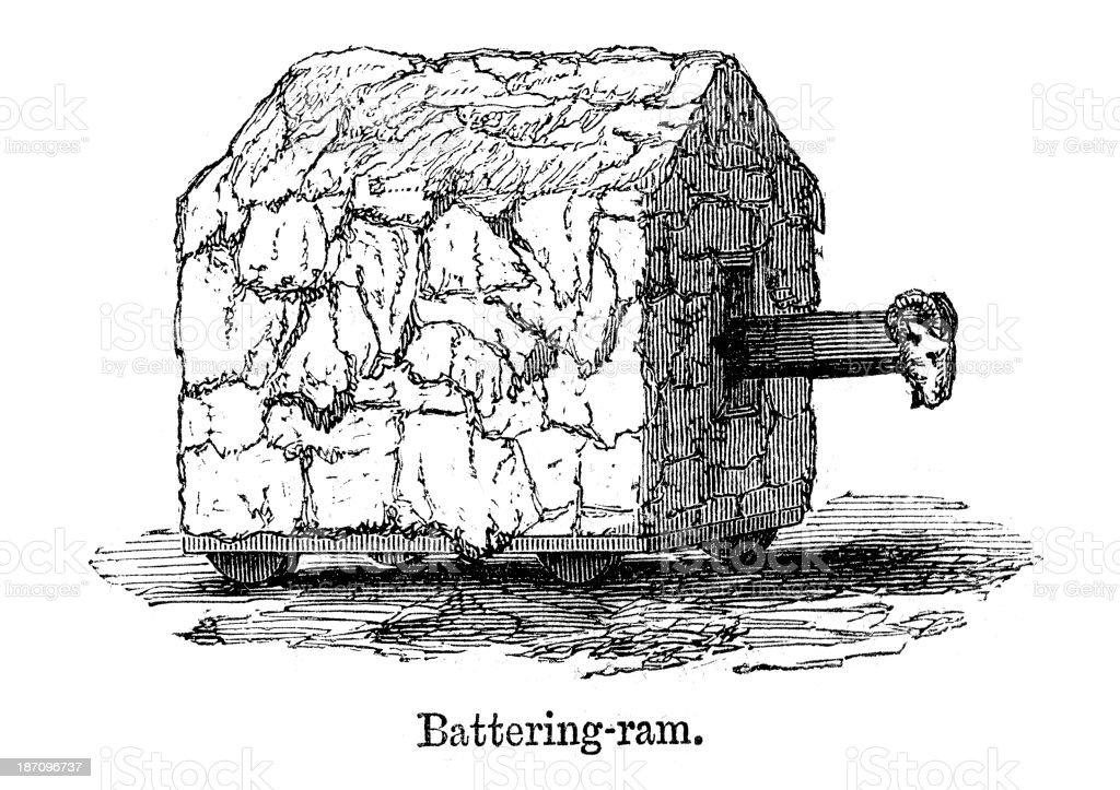 Battering Ram royalty-free battering ram stock vector art & more images of antique