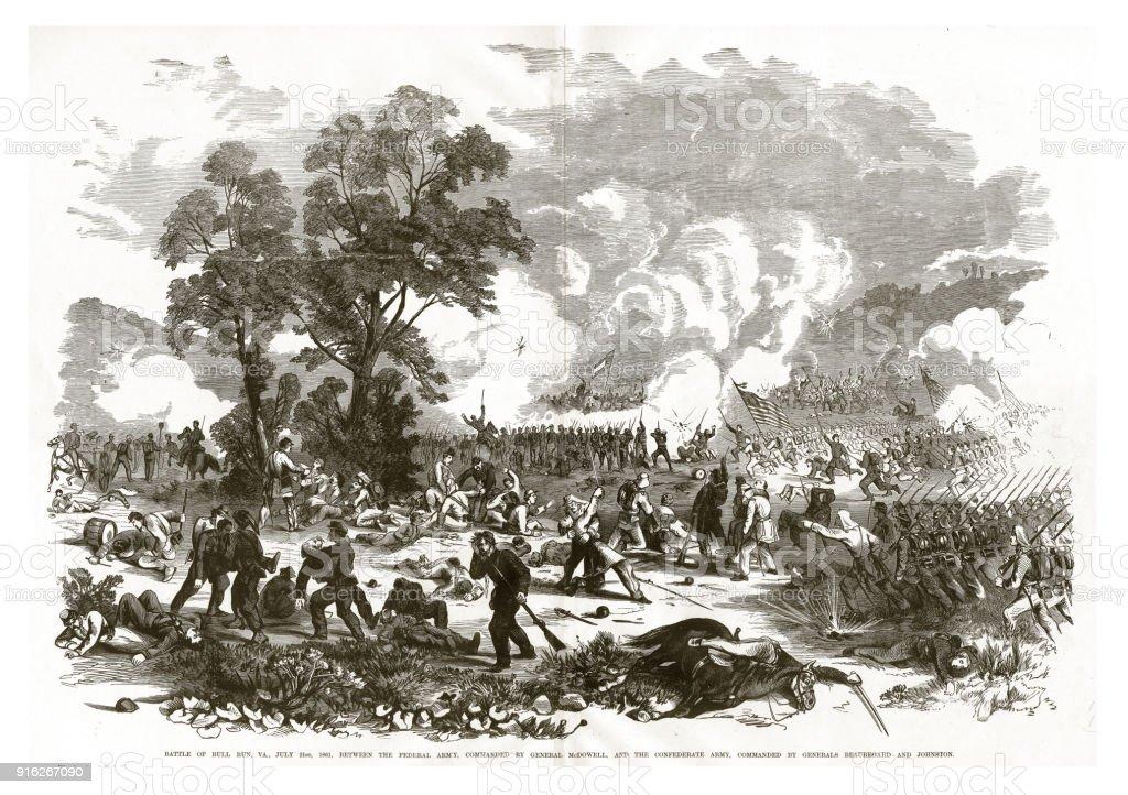 ブルランバージニア州1861 年 7 ...