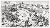 Battle of Missionary Ridge (1863), American Civil War, published 1886