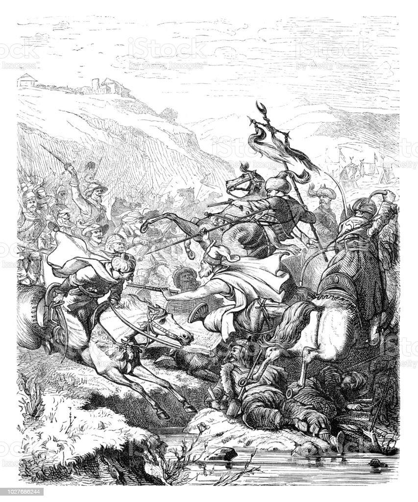 Bataille Du Saintgothard Empire Ottoman Attaque Autriche Du Xviie