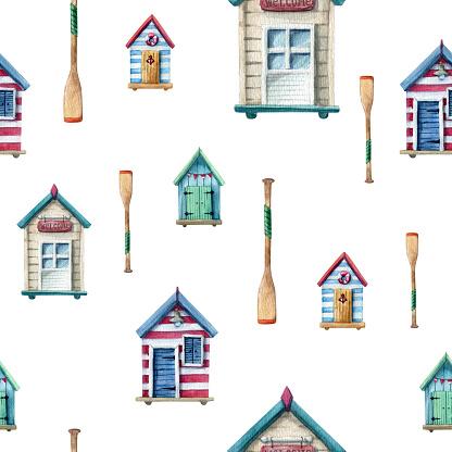 beach house pattern