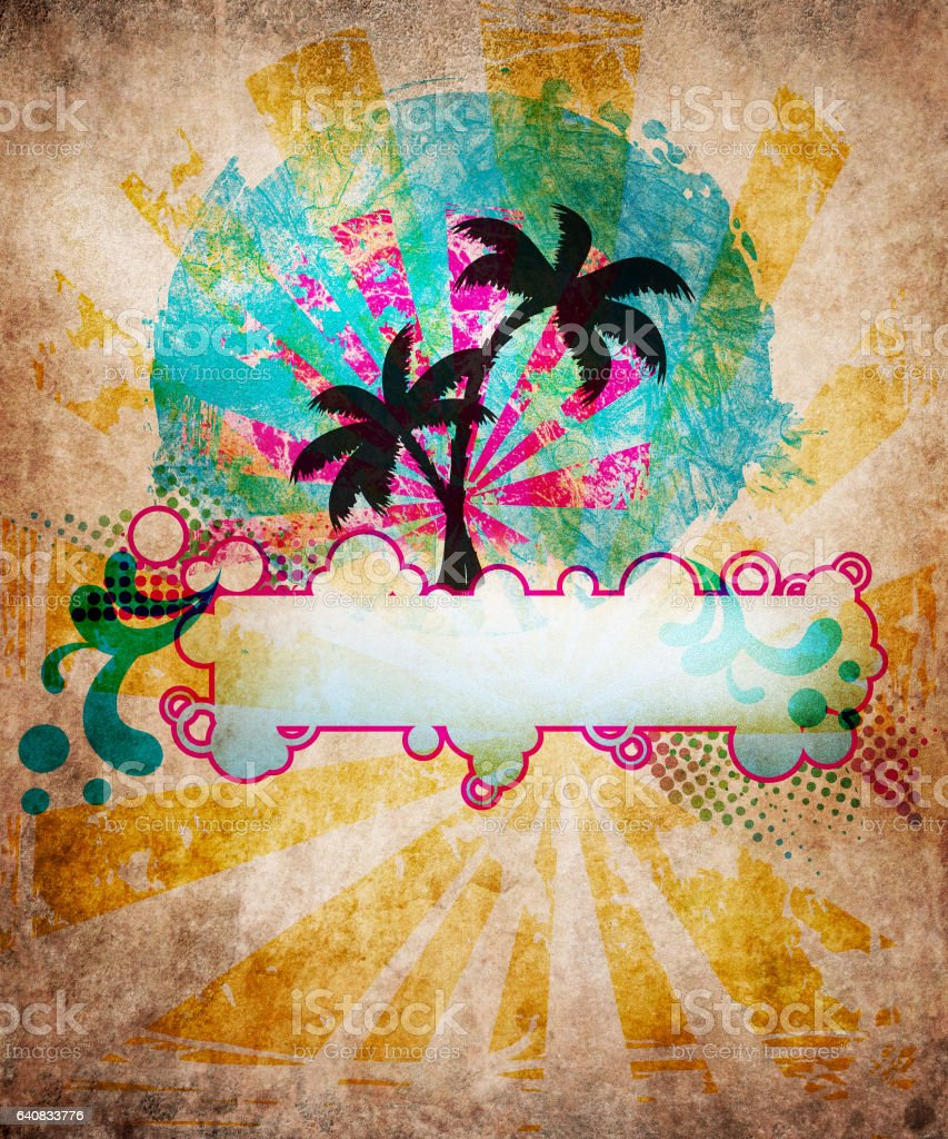 beach party background design stock vector art amp more