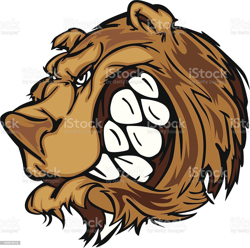 Mascotte ours grizzly vecteur dessin anim vecteurs libres - Dessin de grizzly ...