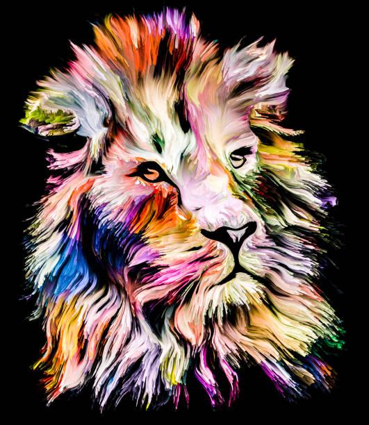 Beast of Color vector art illustration