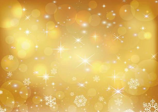 piękny złoty wakacje tło - holiday background stock illustrations