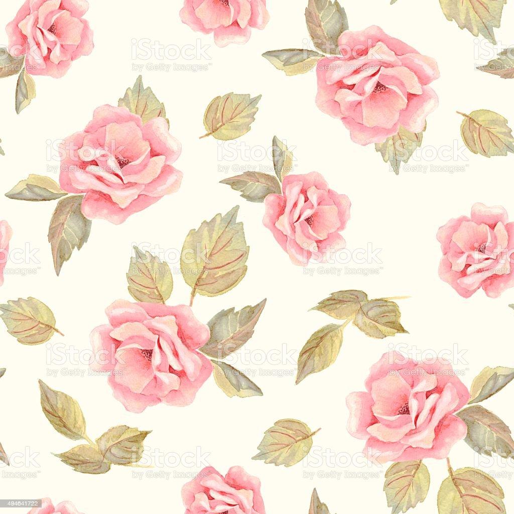 Belas flores desenhados à mão. Teste padrão floral sem emenda 22 - ilustração de arte em vetor