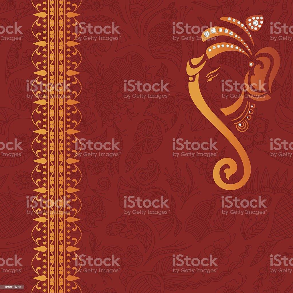 Beautiful Traditional Background vector art illustration